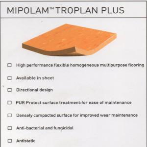 Mipolam tropan plus - vinyl ruang operasi