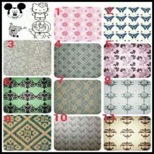 Roll pattern wallpaper1